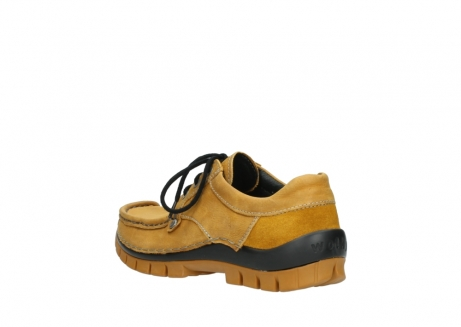 wolky chaussures a lacets 04734 seamy fly winter 11932 nubuck jaune_4