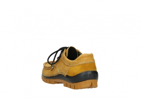 wolky chaussures a lacets 04734 seamy fly winter 11932 nubuck jaune_5