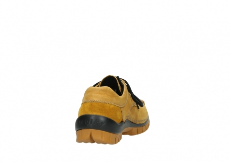 wolky chaussures a lacets 04734 seamy fly winter 11932 nubuck jaune_8