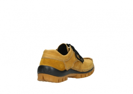 wolky chaussures a lacets 04734 seamy fly winter 11932 nubuck jaune_9