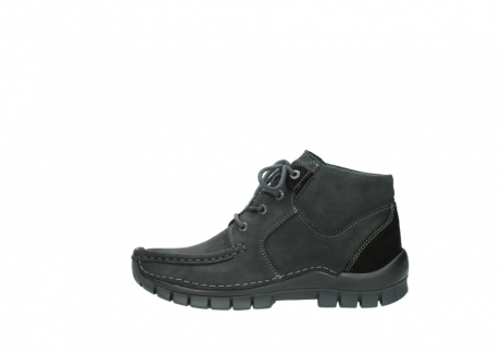 wolky veterschoenen 04735 seamy cross up 10000 zwart nubuck_1
