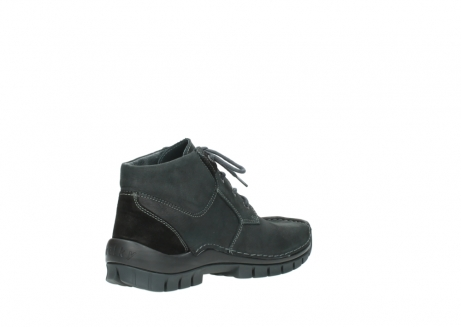 wolky veterschoenen 04735 seamy cross up 10000 zwart nubuck_10