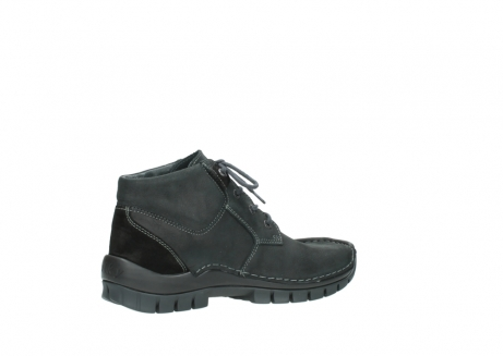 wolky veterschoenen 04735 seamy cross up 10000 zwart nubuck_11