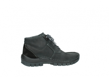 wolky veterschoenen 04735 seamy cross up 10000 zwart nubuck_12
