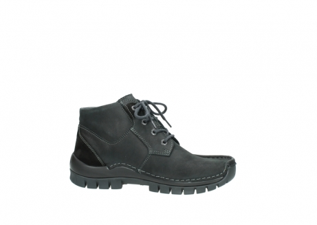wolky veterschoenen 04735 seamy cross up 10000 zwart nubuck_14