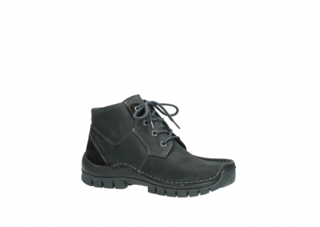 wolky veterschoenen 04735 seamy cross up 10000 zwart nubuck_15