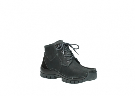wolky veterschoenen 04735 seamy cross up 10000 zwart nubuck_16