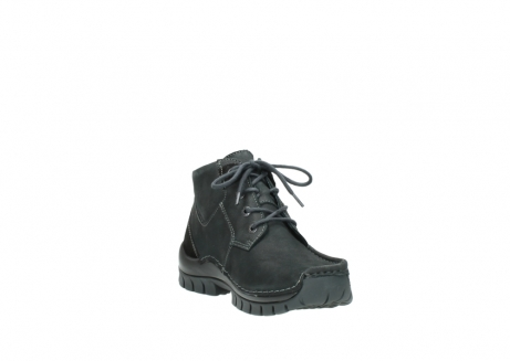 wolky veterschoenen 04735 seamy cross up 10000 zwart nubuck_17