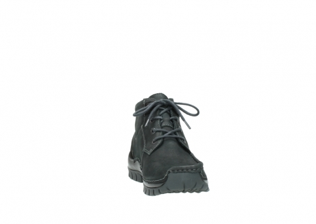 wolky veterschoenen 04735 seamy cross up 10000 zwart nubuck_18
