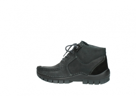 wolky veterschoenen 04735 seamy cross up 10000 zwart nubuck_2