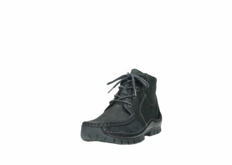 wolky veterschoenen 04735 seamy cross up 10000 zwart nubuck_21