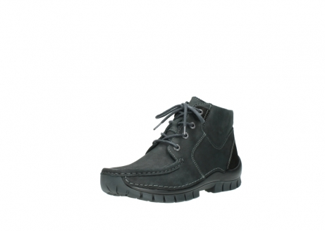wolky veterschoenen 04735 seamy cross up 10000 zwart nubuck_22