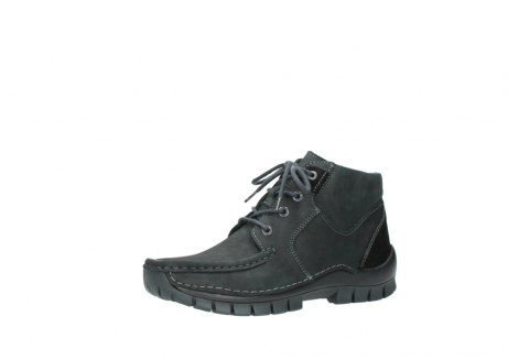 wolky veterschoenen 04735 seamy cross up 10000 zwart nubuck_23