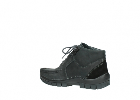 wolky veterschoenen 04735 seamy cross up 10000 zwart nubuck_3