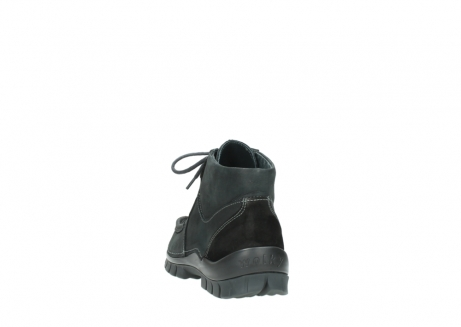 wolky veterschoenen 04735 seamy cross up 10000 zwart nubuck_6