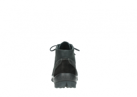 wolky veterschoenen 04735 seamy cross up 10000 zwart nubuck_7