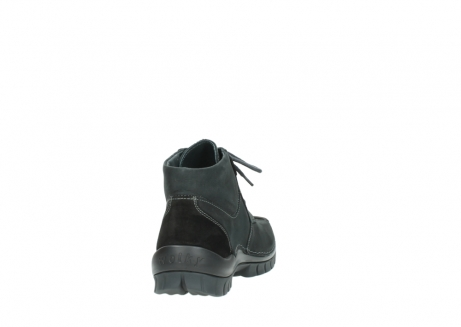 wolky veterschoenen 04735 seamy cross up 10000 zwart nubuck_8