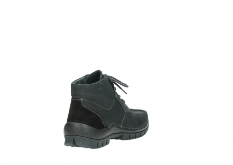 wolky veterschoenen 04735 seamy cross up 10000 zwart nubuck_9