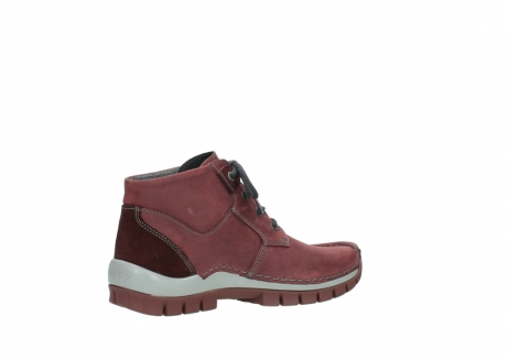 wolky lace up shoes 04735 seamy cross up 10510 burgundy nubuck_11