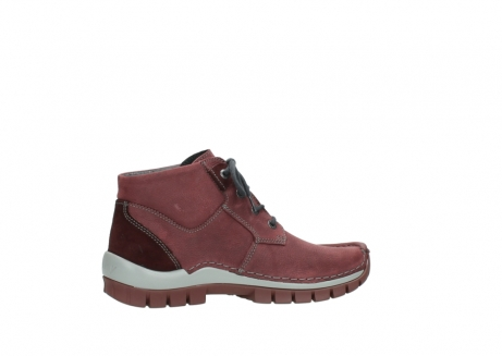 wolky lace up shoes 04735 seamy cross up 10510 burgundy nubuck_12