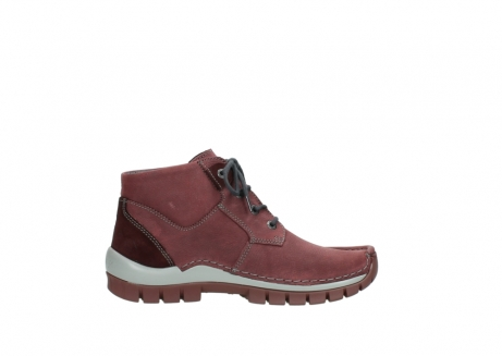 wolky lace up shoes 04735 seamy cross up 10510 burgundy nubuck_13