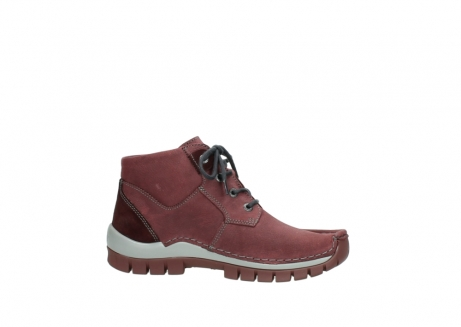 wolky lace up shoes 04735 seamy cross up 10510 burgundy nubuck_14