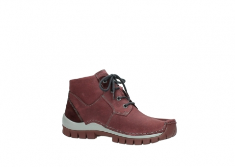wolky lace up shoes 04735 seamy cross up 10510 burgundy nubuck_15