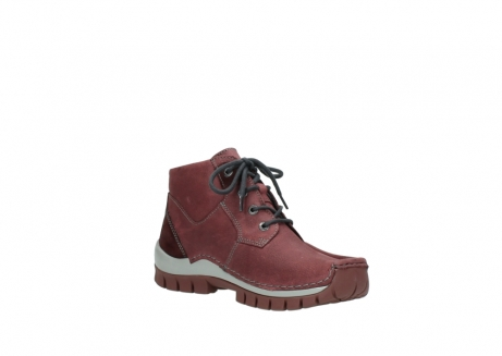 wolky lace up shoes 04735 seamy cross up 10510 burgundy nubuck_16