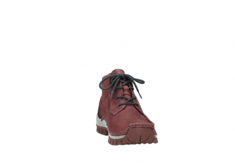 wolky lace up shoes 04735 seamy cross up 10510 burgundy nubuck_18