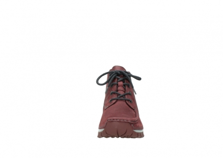 wolky lace up shoes 04735 seamy cross up 10510 burgundy nubuck_19