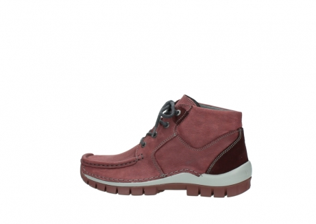 wolky lace up shoes 04735 seamy cross up 10510 burgundy nubuck_2