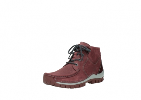 wolky lace up shoes 04735 seamy cross up 10510 burgundy nubuck_22
