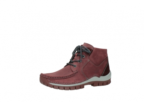 wolky lace up shoes 04735 seamy cross up 10510 burgundy nubuck_23