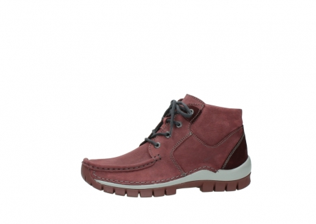 wolky lace up shoes 04735 seamy cross up 10510 burgundy nubuck_24
