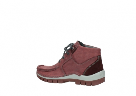 wolky lace up shoes 04735 seamy cross up 10510 burgundy nubuck_3