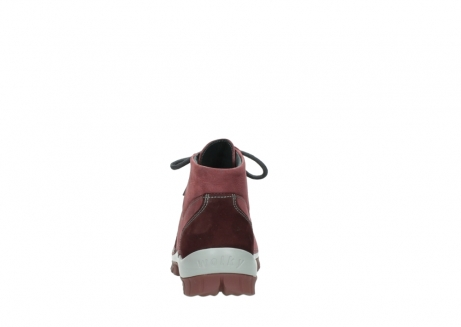 wolky lace up shoes 04735 seamy cross up 10510 burgundy nubuck_7