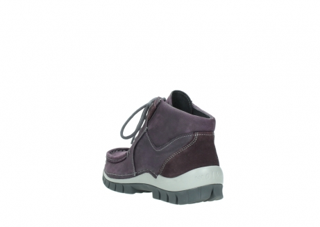 wolky veterschoenen 04735 seamy cross up 10600 paars nubuck_5