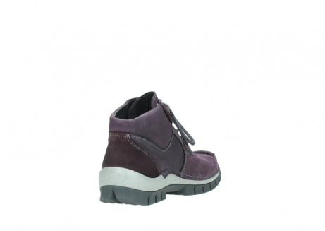 wolky veterschoenen 04735 seamy cross up 10600 paars nubuck_9