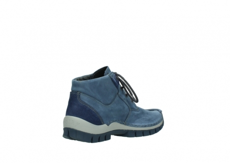 wolky veterschoenen 04735 seamy cross up 10800 donkerblauw nubuck_10