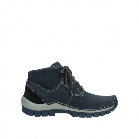 wolky schnurschuhe 04735 seamy cross up 11802 blau nubuk