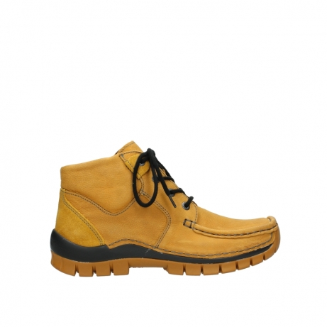 wolky chaussures a lacets 04735 seamy cross up 11932 nubuck jaune