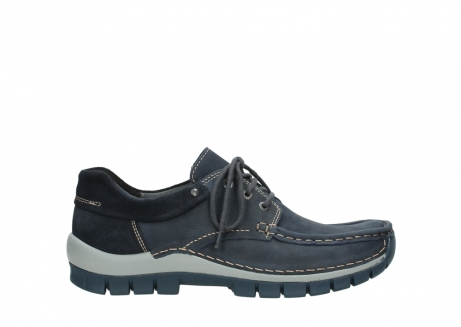wolky veterschoenen 04750 fly men 11802 blauw geolied nubuck_1