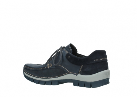 wolky veterschoenen 04750 fly men 11802 blauw geolied nubuck_11
