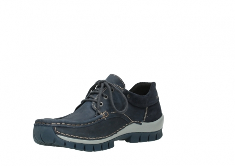 wolky veterschoenen 04750 fly men 11802 blauw geolied nubuck_16