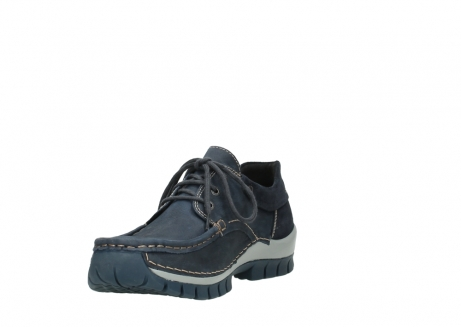 wolky veterschoenen 04750 fly men 11802 blauw geolied nubuck_17