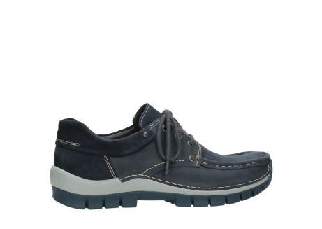 wolky veterschoenen 04750 fly men 11802 blauw geolied nubuck_2