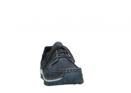 wolky veterschoenen 04750 fly men 11802 blauw geolied nubuck_20