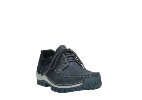 wolky veterschoenen 04750 fly men 11802 blauw geolied nubuck_21