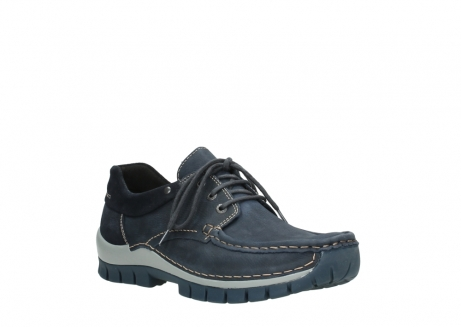 wolky veterschoenen 04750 fly men 11802 blauw geolied nubuck_22