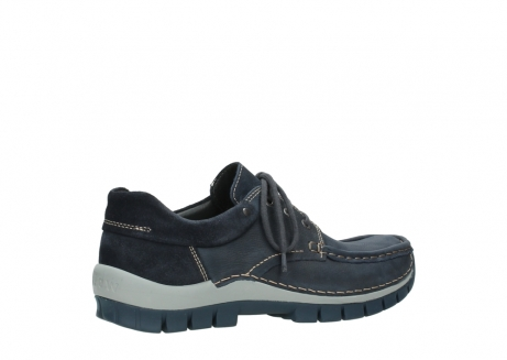wolky veterschoenen 04750 fly men 11802 blauw geolied nubuck_3